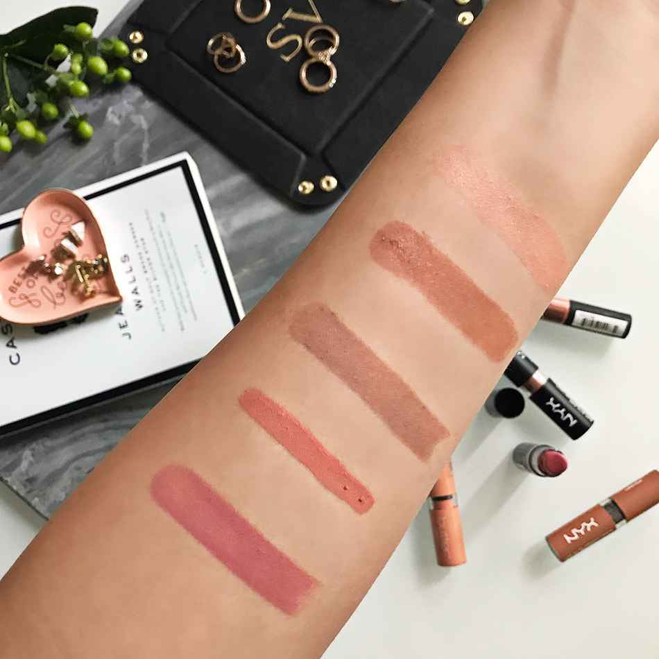 Fixed to Thrill | My Top 5 Favorite Nude Lipsticks