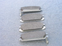 Disc brakes used replaceable brake pads to stop your car.