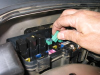 Cars also have fuse boxes located in the engine compartment, typically near the firewall, the separating wall between the engine and the passenger compartment.
