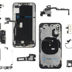 Iphone 4 Disassembly Diagram 1990 Ford F250 Radio Wiring Xs Teardown Primeur Fixjeiphone Nl