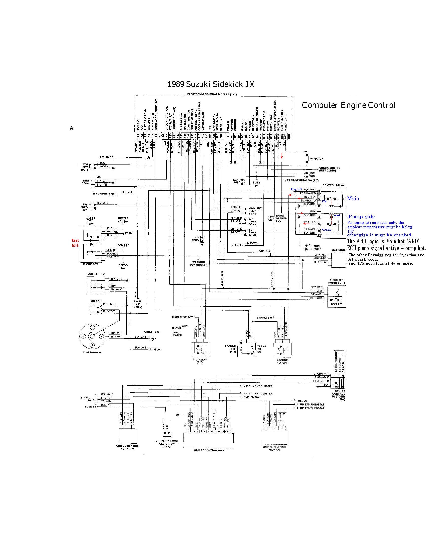 hight resolution of 95 geo tracker wiring diagram