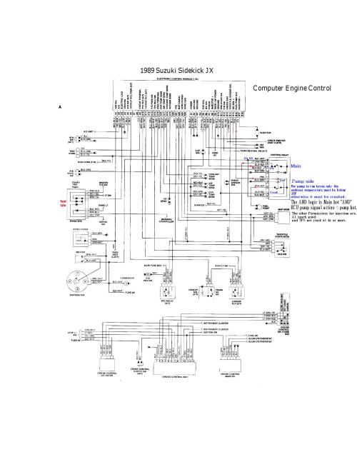 small resolution of air conditioning wiring diagram 1998 tracker
