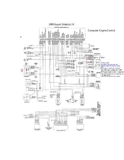 small resolution of 95 geo tracker wiring diagram