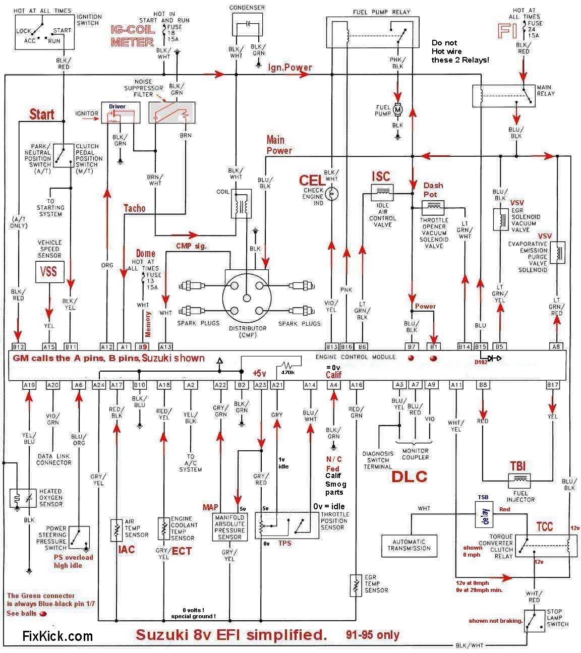 1998 suzuki sidekick sport engine diagram untitled