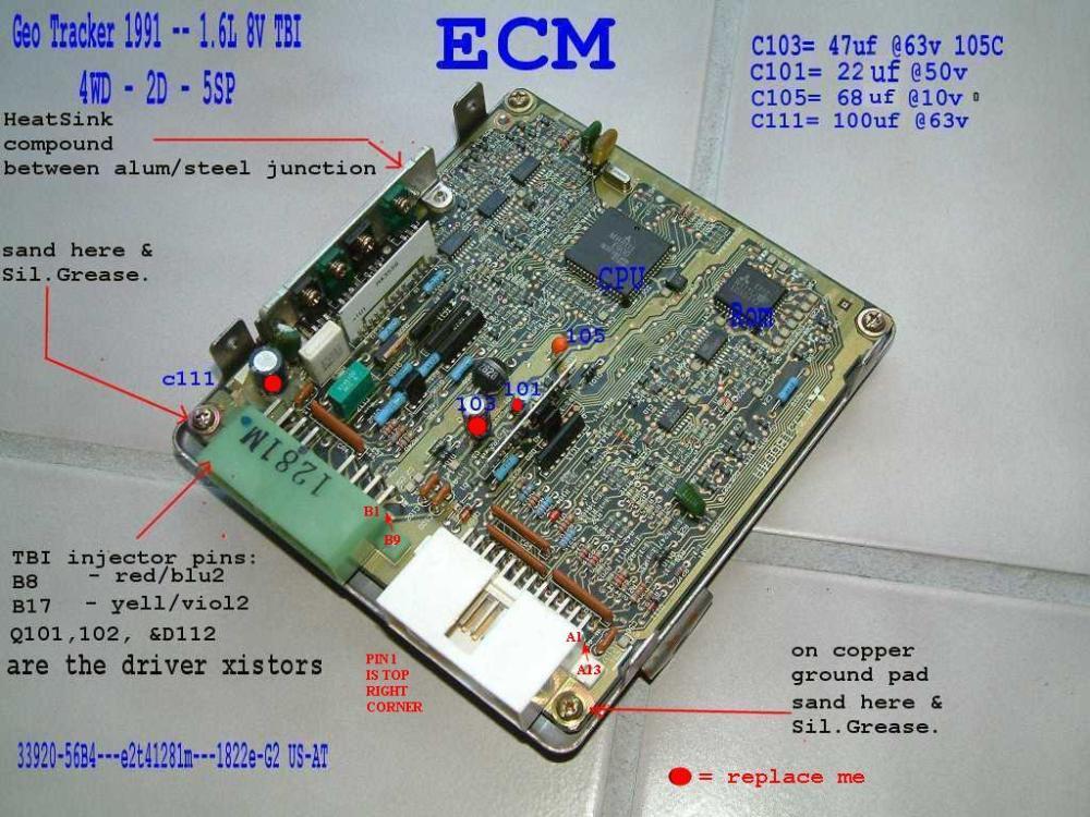 medium resolution of the 8valve ecu 56bxx 1992 geo tracker wiring diagram 1995 geo tracker wiring diagram