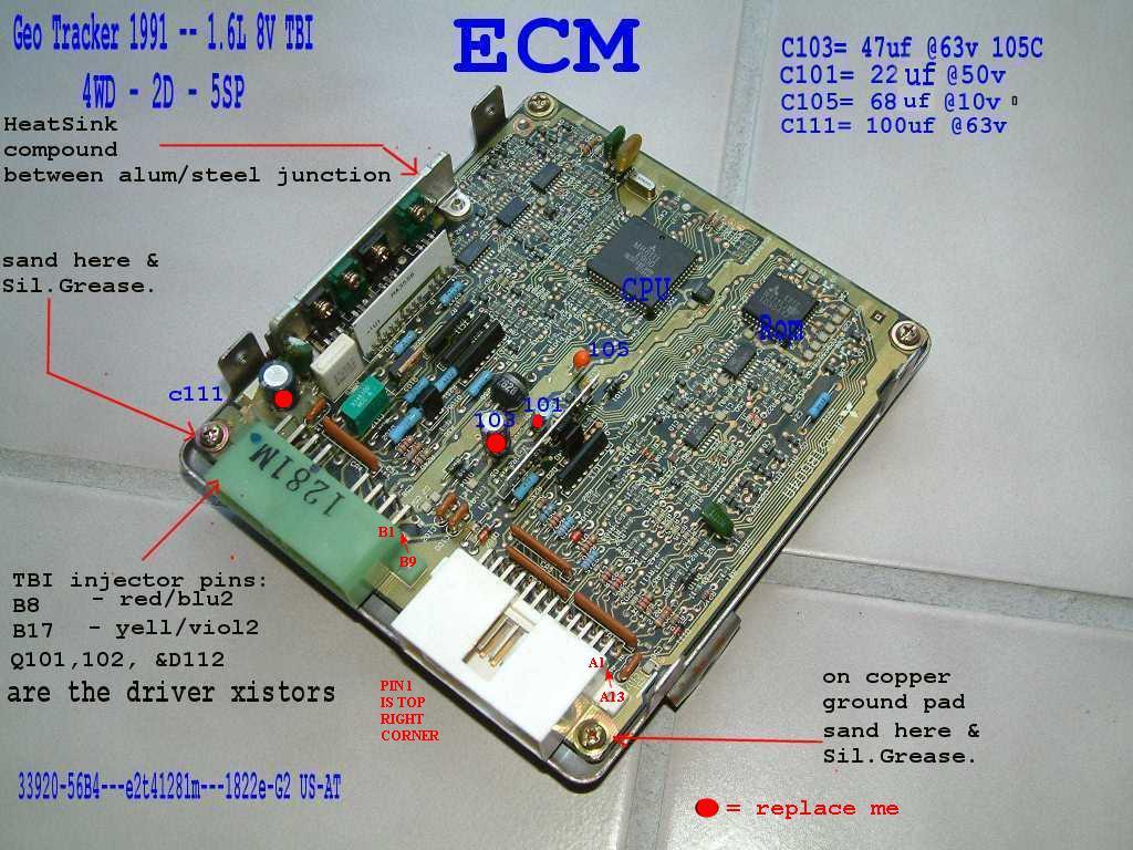 hight resolution of the 8valve ecu 56bxx 1992 geo tracker wiring diagram 1995 geo tracker wiring diagram