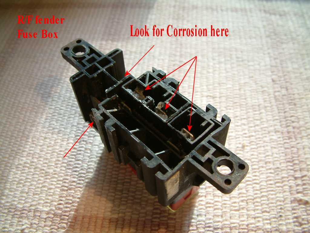 hight resolution of  the fuse block and look