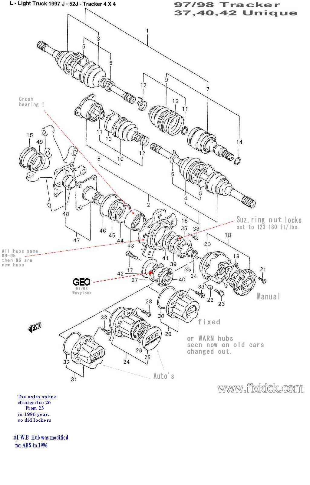 hight resolution of 1994 suzuki sidekick wheel drive system wiring diagram