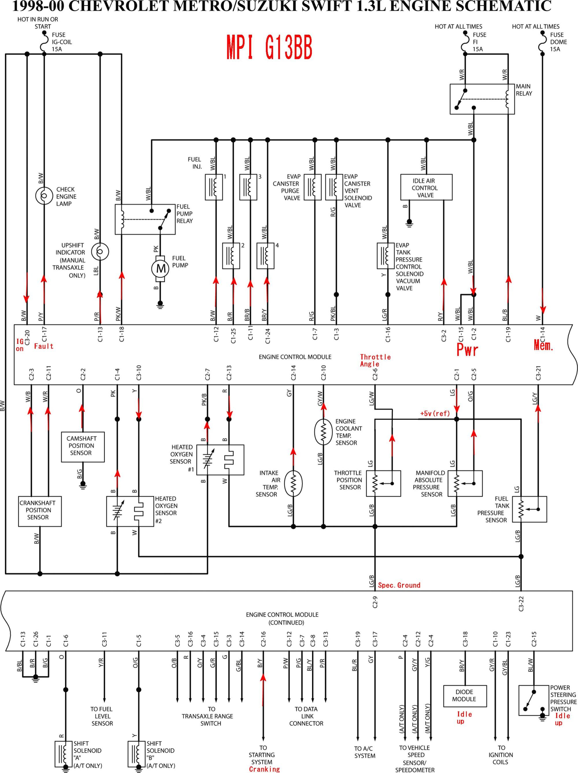 hight resolution of 1997 geo metro stereo wiring diagram