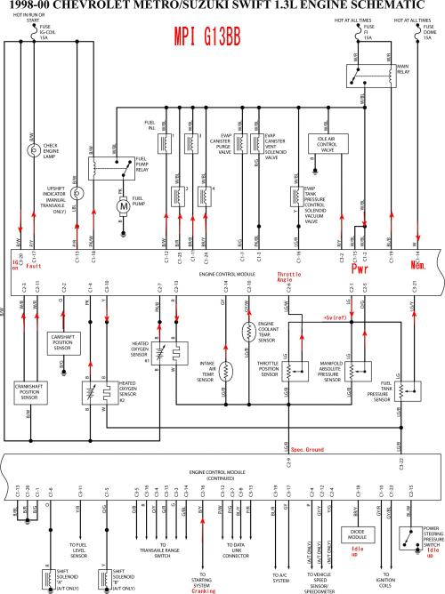 small resolution of 1997 geo metro stereo wiring diagram