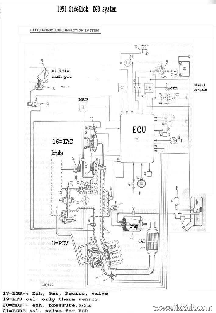 1995 Geo Tracker Electrical Problems. Diagram. Auto Wiring