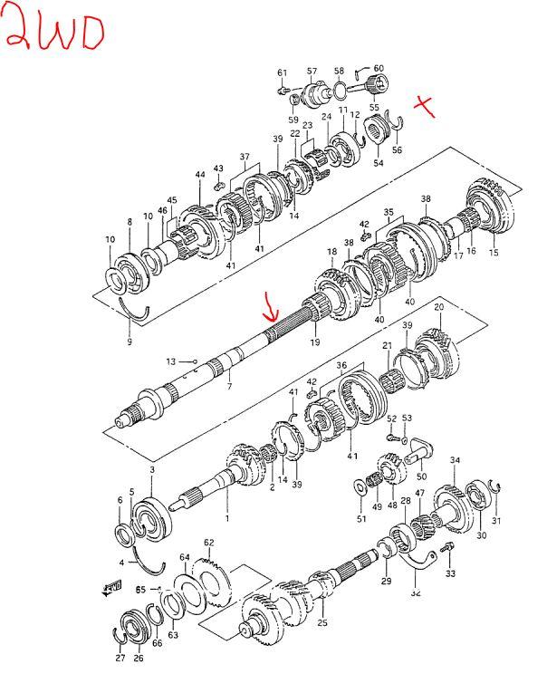 5 speed transmission rebuild log 5sp box
