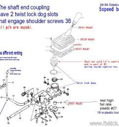 5 speed transmission rebuild log 5sp box wiring diagram for 93 suzuki sidekick 1989 suzuki sidekick [ 981 x 870 Pixel ]