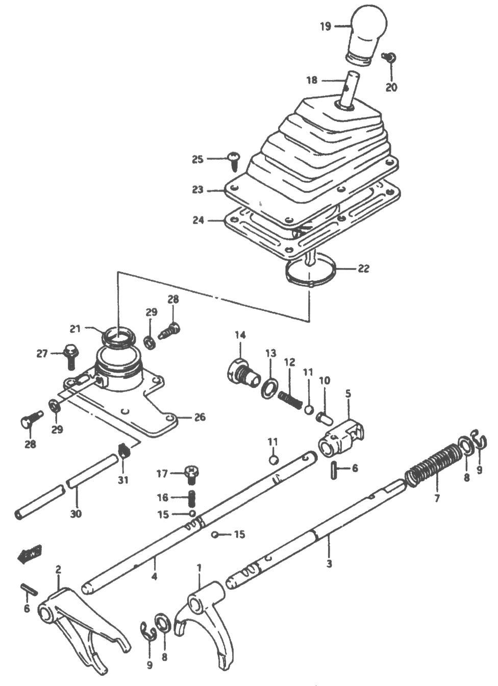 Service manual [1992 Geo Tracker Transfer Case Repair