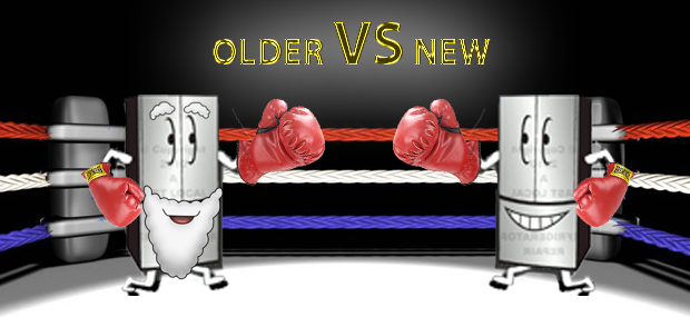 Old VS New Fridge