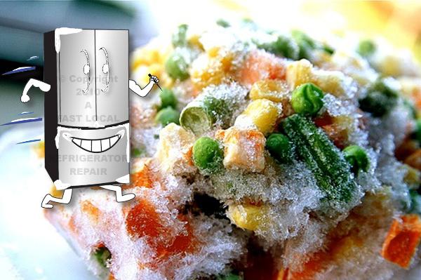 freezer burn food