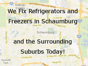 Schaumburg Refrigerator Repair Map
