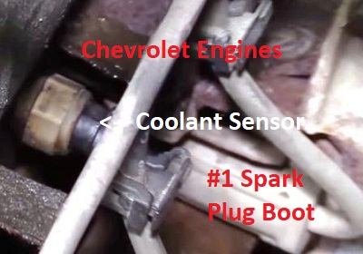 83 Mustang Engine Wiring Harness Diagnose Chevrolet Coolant Temperature Sensor Problems