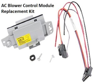 Chevrolet AC Blower Control Problems Solved at