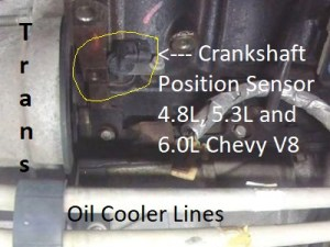 Chevy Engine Crankshaft Position Sensor Intermitent Operation
