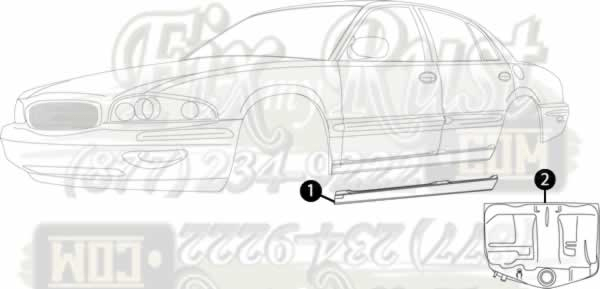 LeSabre Rust Repair Panels for Auto Body Restoration