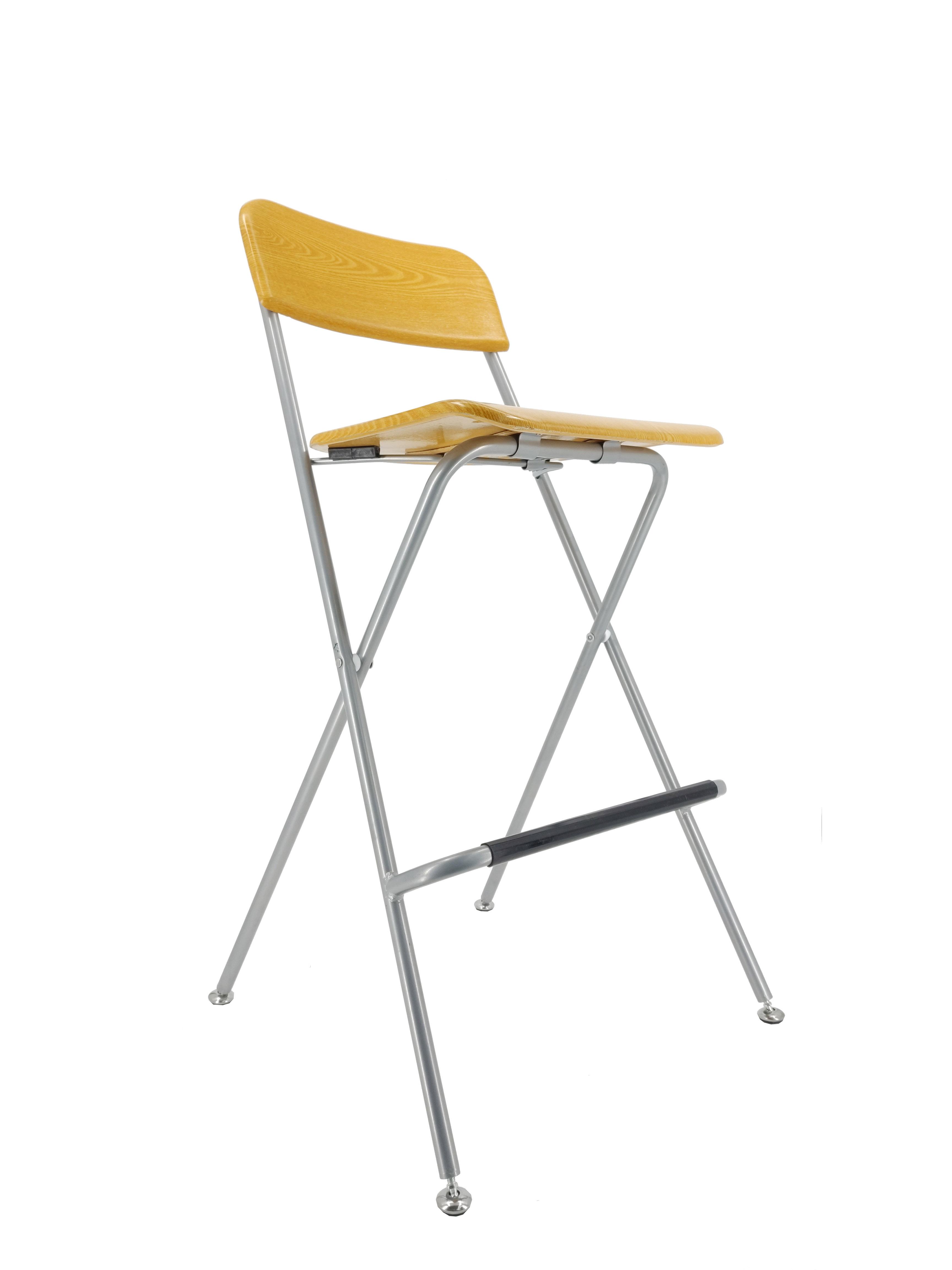 Bar Chair Bistro High Chair High Chair Wood Metal Chair