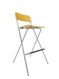 Bar Chair Bistro High Chair High Chair Wood Metal Chair ...