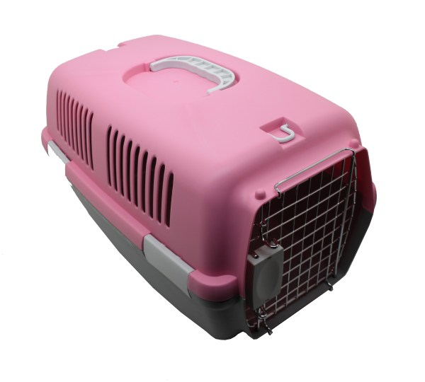 Pink Portable Dog Crates