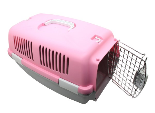 Pet Carrier- Kennel Hard Crate Travel Portable Tote Cage