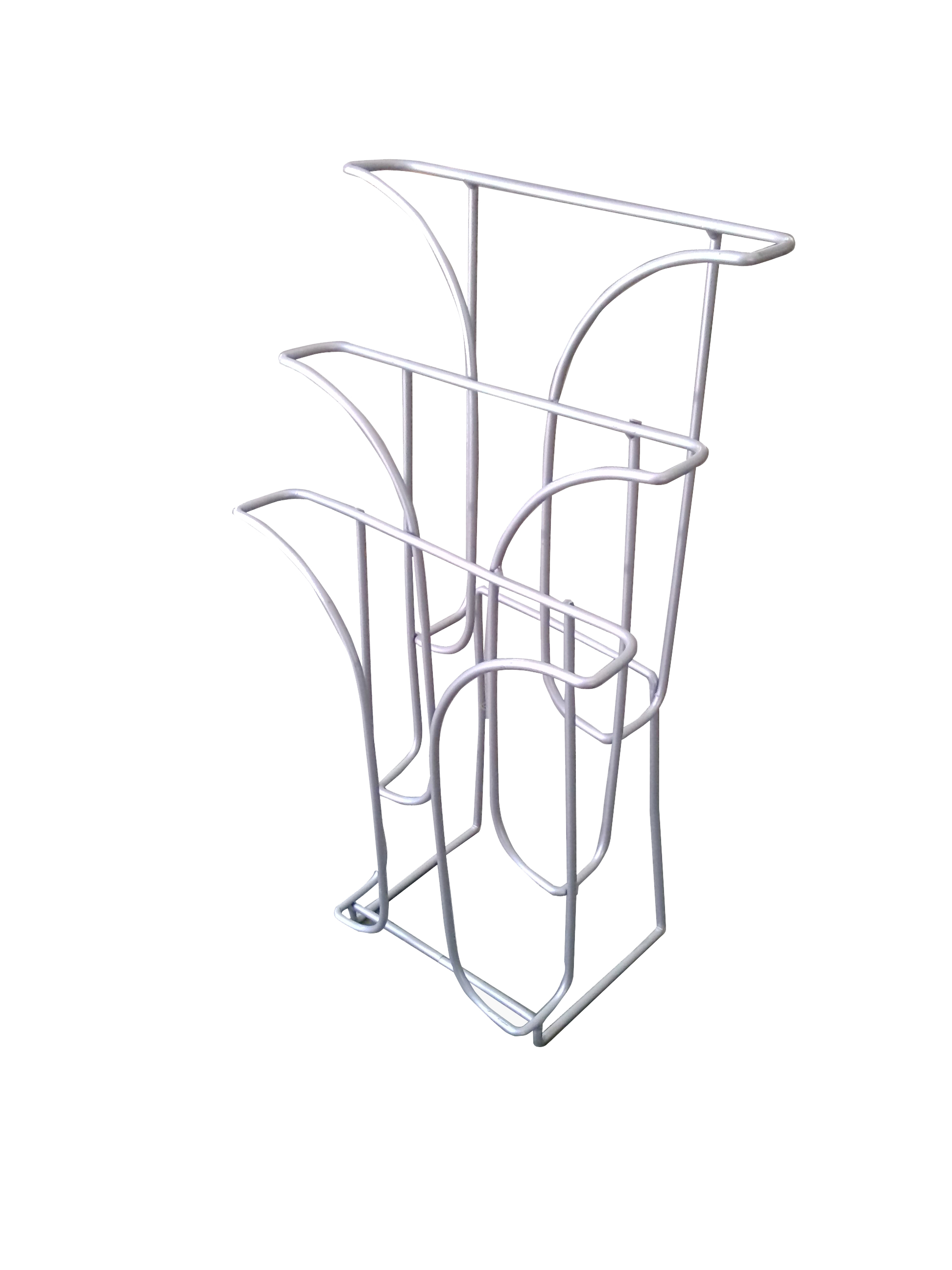 Wire Literature Holder Brochure Display Stand Tri Fold