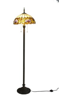 Tiffany Floor Lamp Tiffany Light Fixture Library Light ...