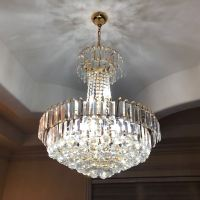 Crystal Chandelier Hanging Chandelier Foyer Light Fixture ...