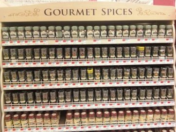 Wire Shelf Management System for Spice