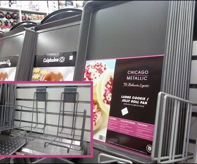 Cookware On Frame Displayer