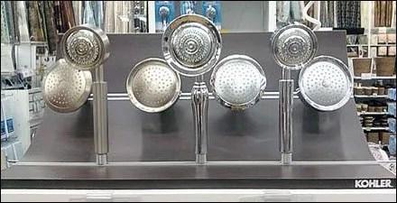 Kohler Showerhead Display