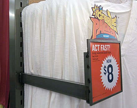 Alternative to Front-Mount Faceout Signs