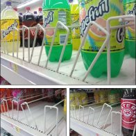 Pallet Rack Beverage Dividers
