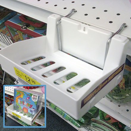 Plastic Shelf-edge Tray