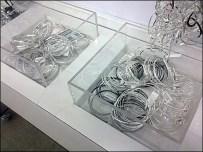 Fashion Jewelry Acrylic Dump Bins