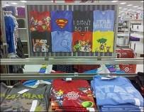 T-Shirt Roadmap To Apparel Shelf Arrangement