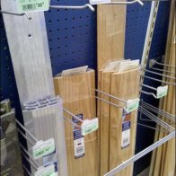 Informal Dividers Created from Hooks