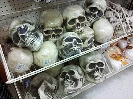 Skulls in Endless Basket