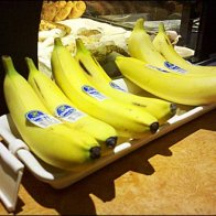 Banana Cashwrap Tray with Label Holder