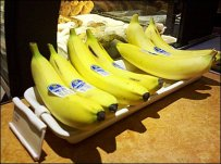 Banana Tray Ceramic Label Holder