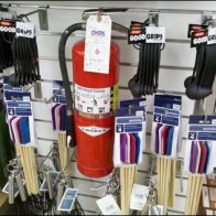 Fire Extinguisher Fixture