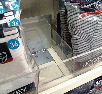 Shelf Management System for Underwear