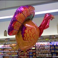 Balloons as Retail Merchandising Signage Fixtures