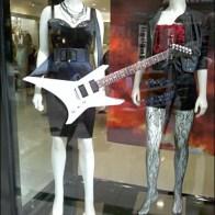 Foamcore Guitar Window Dressing