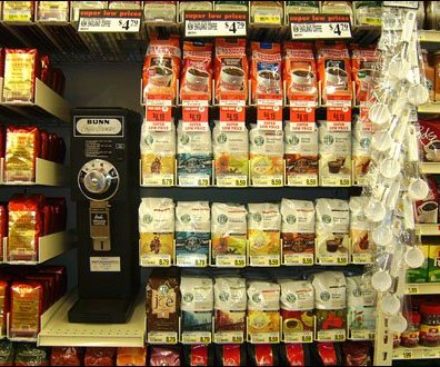 Ice Cream Scoop Strip Merchandiser Coffee Cross Sell