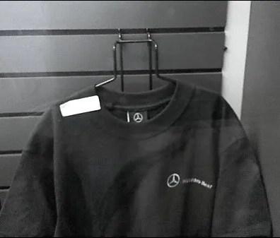 Slatwall T-Shirt Hanger